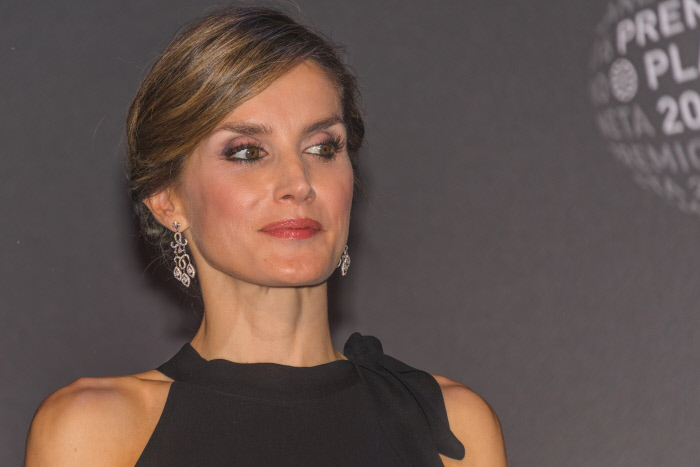 Queen Letizia during delivery of the Planeta Prize of Literature in Barcelona on Saturday 15, October 2016